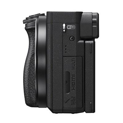 Sony a6400 Camer Body Side Facing