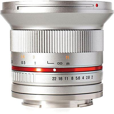 Samyang 12mm f2.0 NCS CS Lens - Sony E Fit - Silver