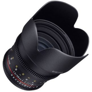 Samyang 50mm T1.5 AS UMC VDSLR Lens - Canon Fit