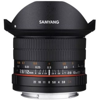 Samyang 12mm f2.8 ED AS NCS Fisheye Lens