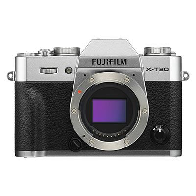 Fujifilm X-T30 Digital Camera Body - Silver