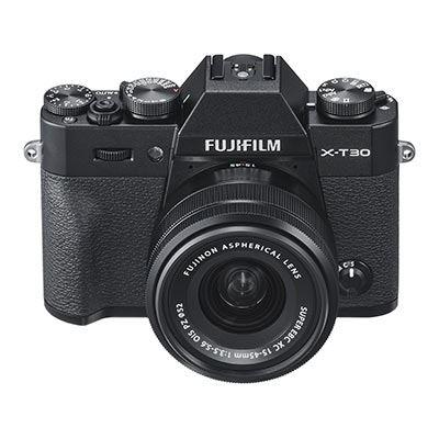 Fujifilm X-T30 Digital Camera with XC 15-45mm Lens - Black