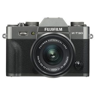 Fujifilm X-T30 Digital Camera with XC 15-45mm Lens - Charcoal Grey