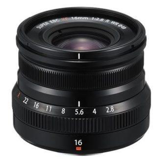 Fujifilm XF 16mm f2.8 R WR Lens - Black