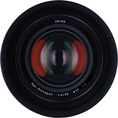 Zeiss 55mm f1.4 T* Otus Lens