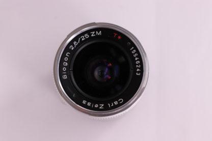 ZEISS Biogon T* 25mm f/2 8 ZM Lens - Campkins Cameras