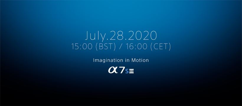 sony a7s3 release date
