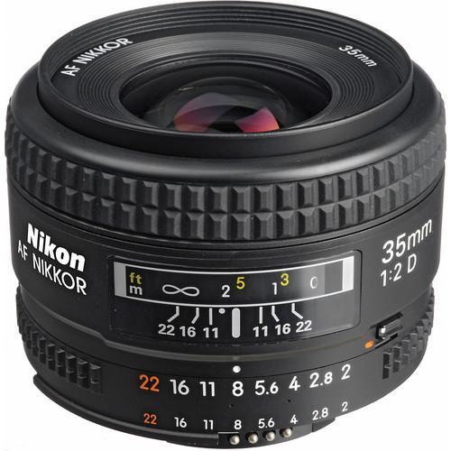 Nikon AF NIKKOR 35mm f/2D Lens