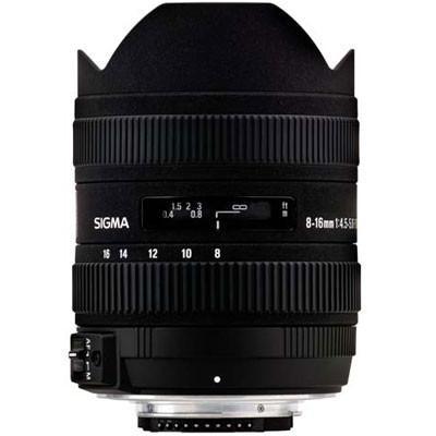 Sigma 8-16mm f4.5-5.6 DC HSM Lens
