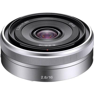 Sony E16mm f2.8 Pancake Lens