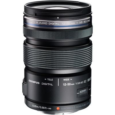 Olympus 12-50mm f3.5-6.3 ZUIKO Digital ED EZ Lens