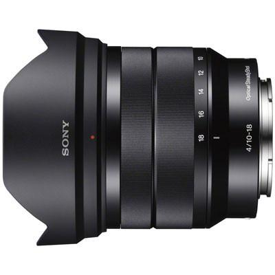Sony E10-18mm f4 OSS Lens