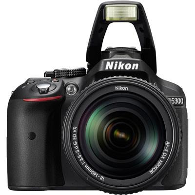 Nikon D5300 Digital SLR Camera + Nikon 18-140mm VR Lens