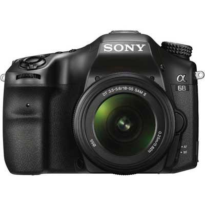 Sony Alpha A68 Digital SLT Camera with 18-55mm Lens