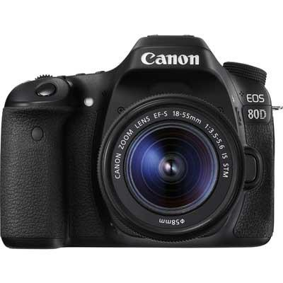 Canon EOS 80D Digital SLR Camera with 18-55mm IS STM Lens