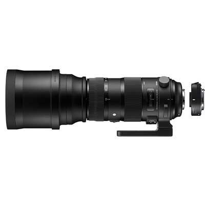 Sigma 150-600mm f5-6.3 SPORT DG OS HSM Lens with 1.4x Teleconverter