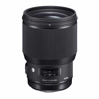 Sigma 85mm f1.4 ART DG HSM Lens