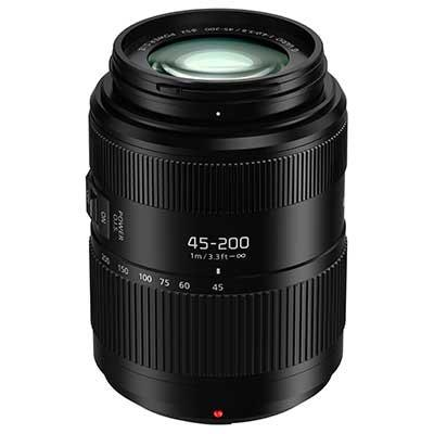 Panasonic 45-200mm f4.0-5.6 II LUMIX G VARIO POWER O.I.S. Lens - Preorder