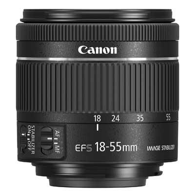 Canon EF-S 18-55mm f4-5.6 IS STM Lens