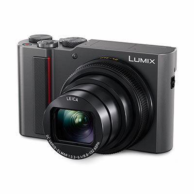 Panasonic LUMIX DMC-TZ200 Digital Camera - Silver