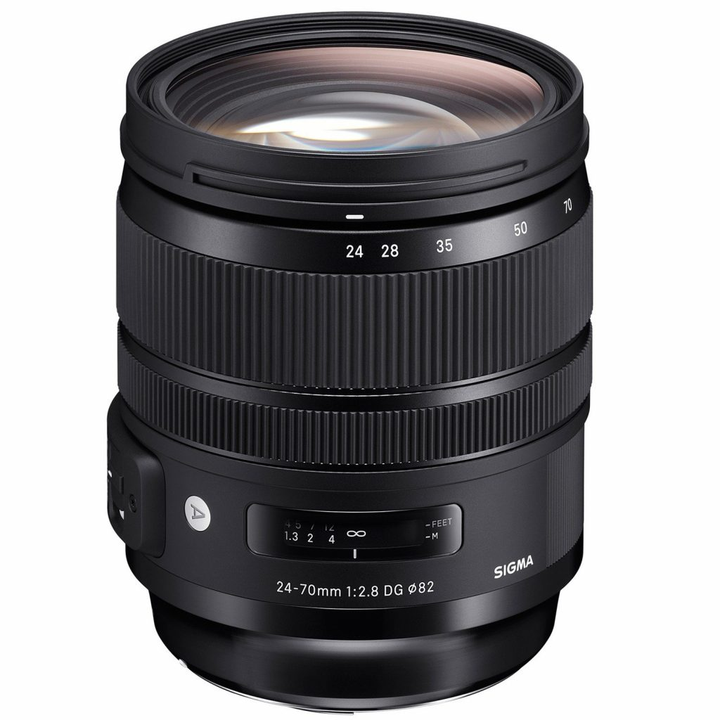 Sigma 24-70mm F2.8 DG OS HSM | A Nikon & Canon fit.