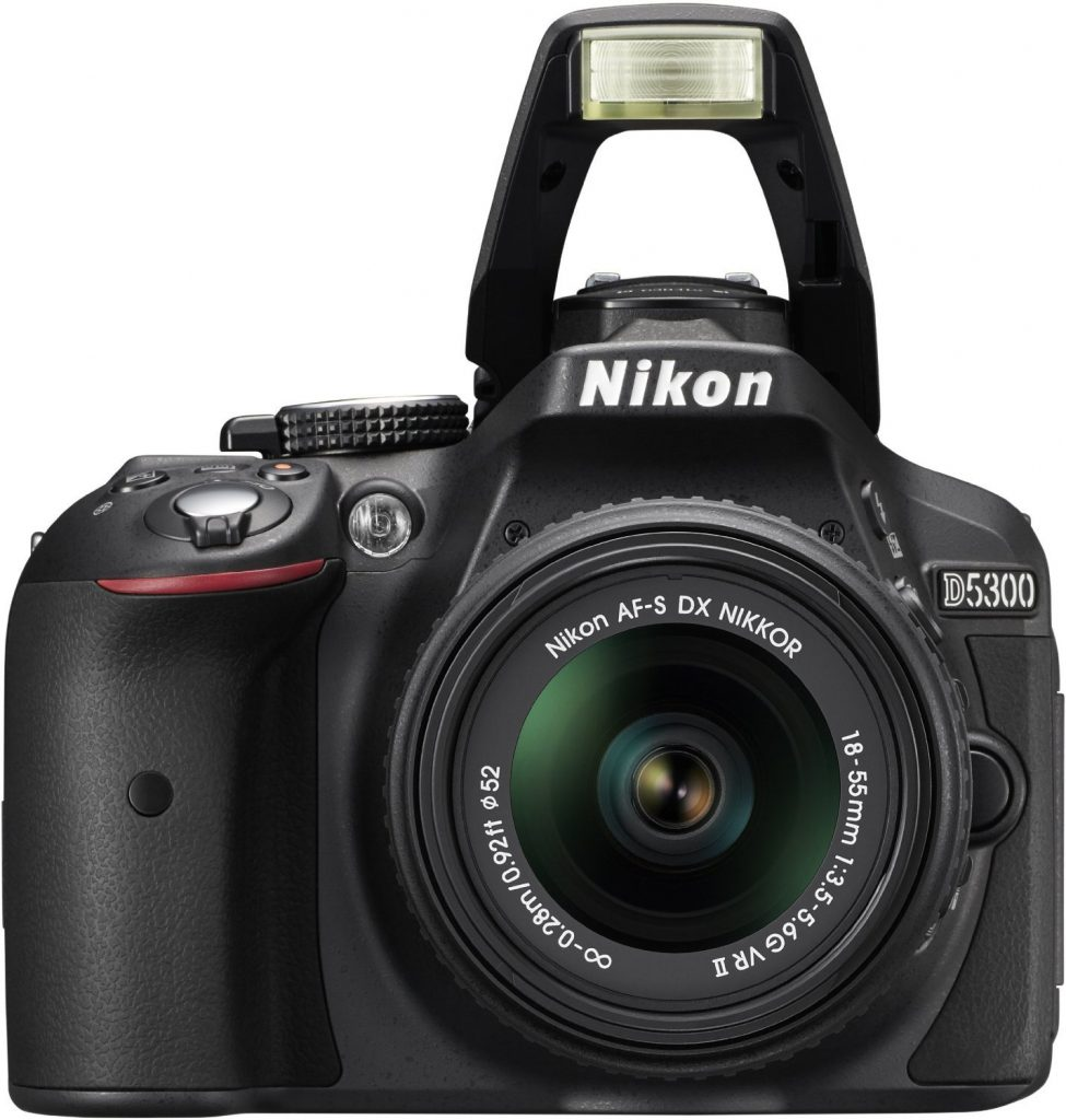 Nikon D5300 Digital SLR in Black + Nikon 18-55mm VR II Lens