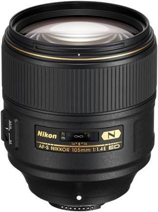 Nikon 105mm f1.4E AF-S ED Prime Lens