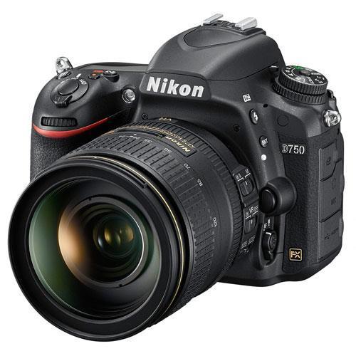 Nikon D750 Digital SLR + Nikon 24-120mm Lens