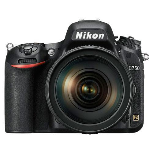 Nikon D750 Digital SLR + Nikon 24-120mm Lens