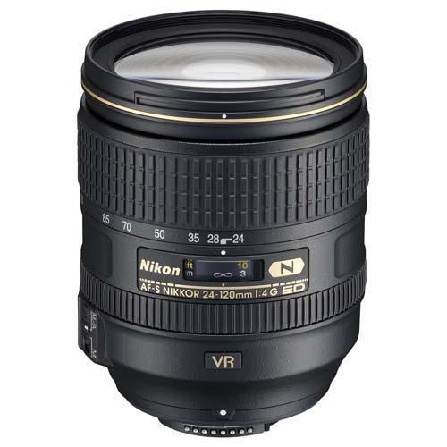 Nikon AF-S 24-120mm f4G ED VR Lens