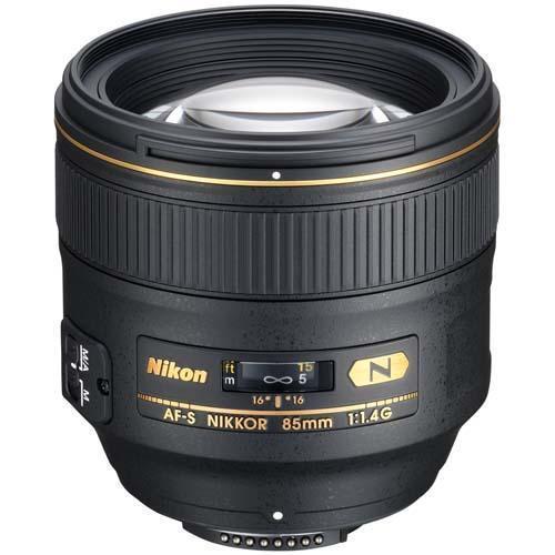 Nikon 85mm f1.4 G AF-S Lens