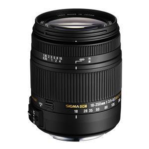 Sigma 18-250mm f/3.5-6.3 DC OS HS Lens