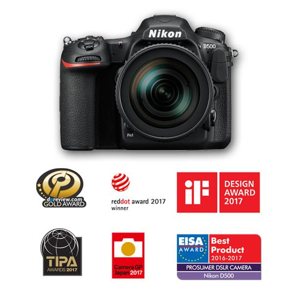 Nikon D500 Digital SLR + 16-80mm lens