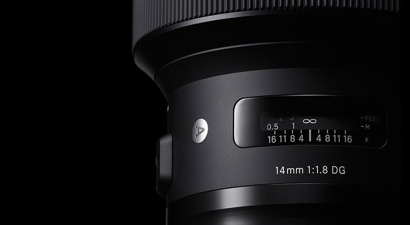 Sigma 14MM F1.8 DG HSM | A Nikon & Canon fit.