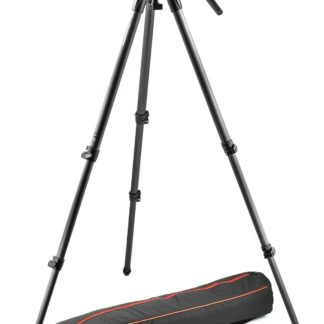 Manfrotto - Lightweight fluid video system / carbon / single legs