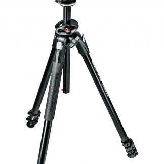 Manfrotto 290 DUAL Kit, Alu 3 sec. tripod w/ 90°column and ball head