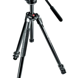 Manfrotto 290 XTRA Kit, Alu 3 sec. tripod with fluid head