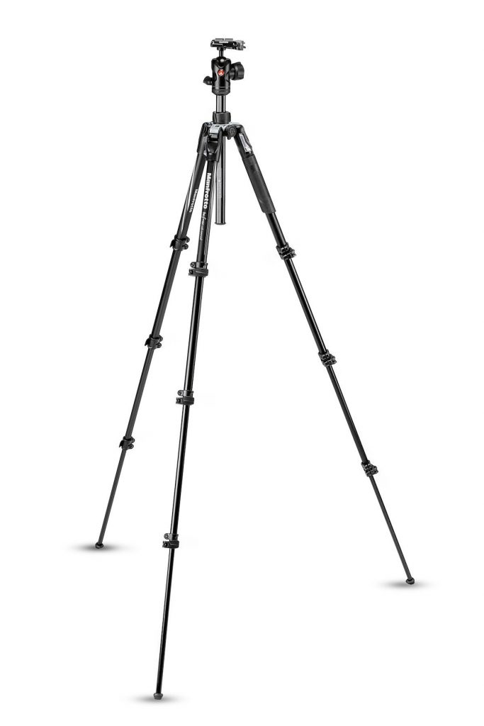 Befree Advanced Aluminum Travel Tripod lever, ball head